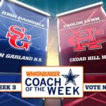 Vote Coach Ragsdale for Whataburger Cowboys Coach of the Week