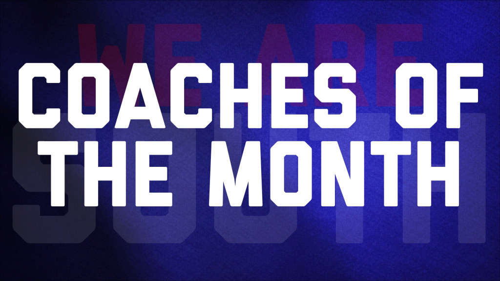 "September Colonel ""Coaches of the Month"" Announced"