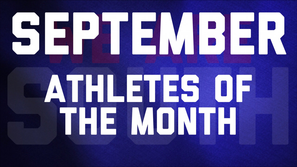 September Colonel Athletes of the Month