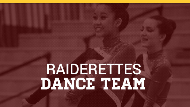2018-19 Raiderettes Dance Team Tryouts – 5/29-6/1