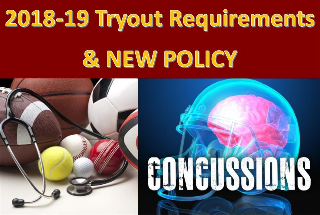 2018-19 Tryout Requirements & NEW POLICY