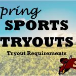 Spring Sports – Tryout Requirements