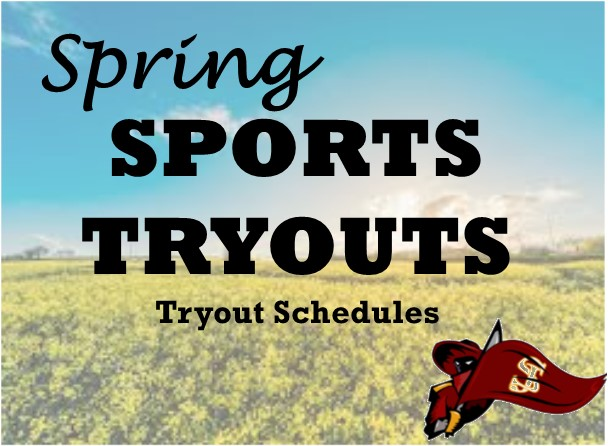 Spring Tryout Schedules