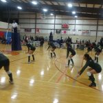 Yes Prep Southwest Campus High School Varsity Volleyball beat Harmony Science Academy – Houston 3-2