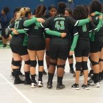 Girls Varsity Volleyball falls to HSA Houston 3 – 2