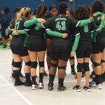 Girls Varsity Volleyball falls to HSA Houston 3 – 2