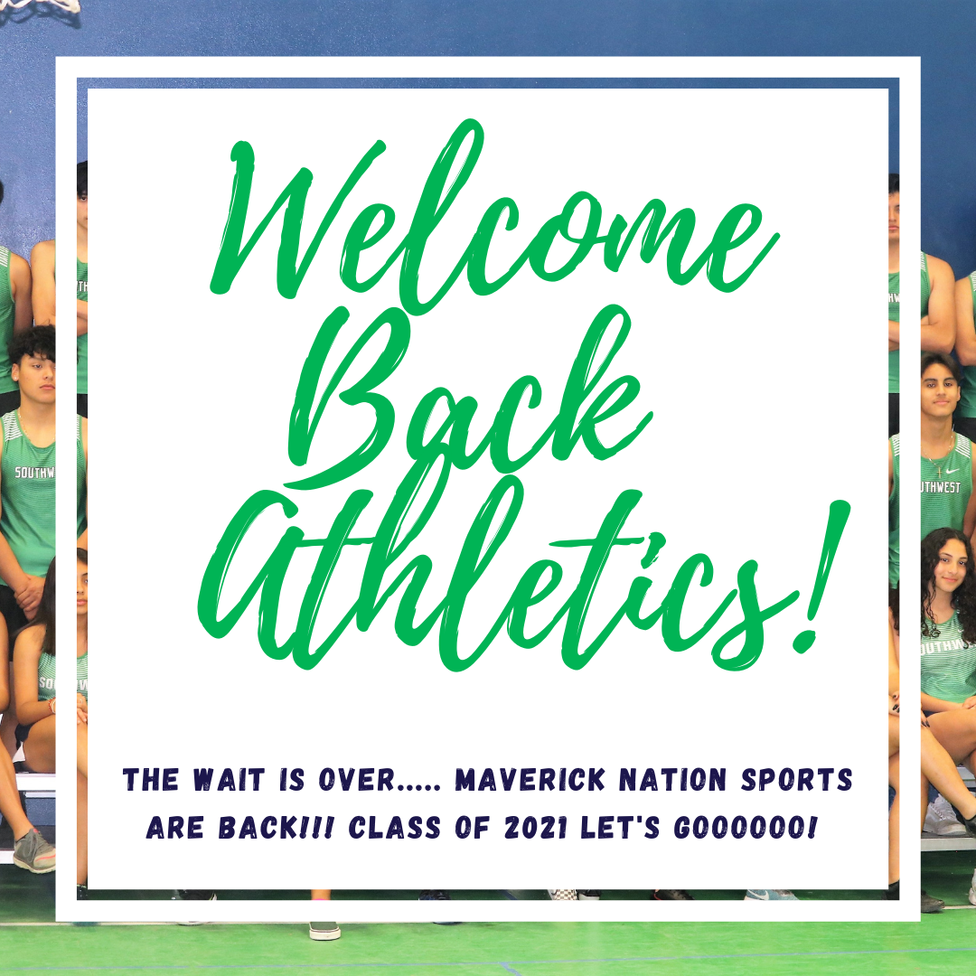 Welcome Back Athletics!!!