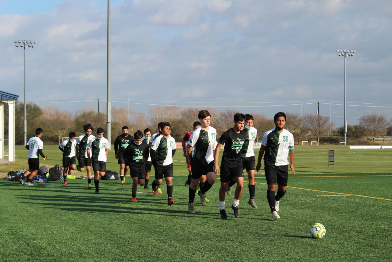 Mavs Soccer vs BO & Gulfton