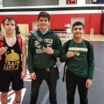 Greenfield High School Boys Varsity Wrestling finishes 5th place