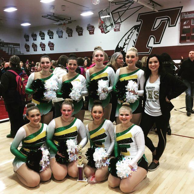 GHS Dance takes 3rd at Menomonee Falls!!!