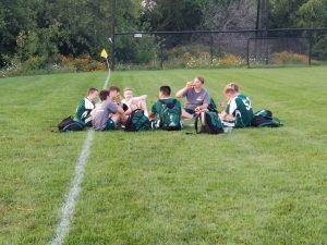 GHS Boys Soccer Alumni Game – Highlights