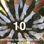 Cheer Tryouts – May 8th – 11th!!!