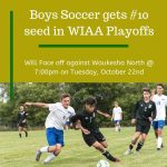 Boys Soccer Gets #10 Seed in WIAA Playoffs