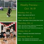 Weekly Preview – October 14-19