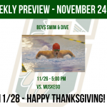 Weekly Preview – November 24-30
