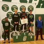 Hawk Wrestlers Finish in 6th Place at Woodland Conference Tournament