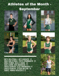 Athletes of the Month – September 2020