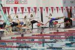 Gabrielle LePine at State Swim Meet 11/14/20