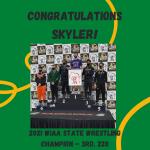 Congratulations Skyler!!!
