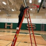GHS Girls Basketball Net Cutting Ceremony 3/8/21 - Woodland East Co-Conference Champs!!