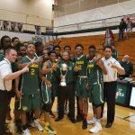 Crispus Attucks Medical Magnet High School Boys Varsity Basketball beat Indianapolis Howe 86-80