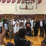 Crispus Attucks Medical Magnet High School Boys Varsity Basketball beat Bishop Chatard High School 63-45