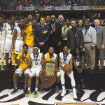 Crispus Attucks Medical Magnet High School Boys Varsity Basketball beat Twin Lakes 73-71