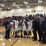 Boys Varsity Basketball beats Cardinal Ritter 76 – 68