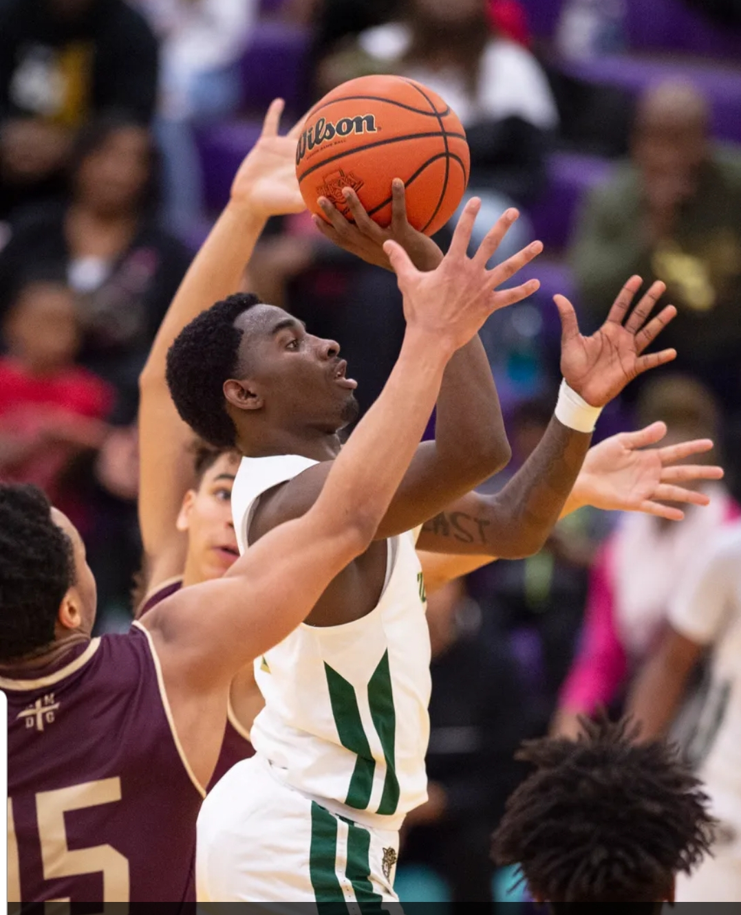 Boys Varsity Basketball beats Brebeuf Jesuit Preparatory School 59 – 56