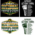 Crispus Attucks Basketball Sectional Championship T-Shirts on sale online.