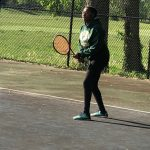 Crispus Attucks Girls Varsity Tennis falls in all of its matches during the Semifinals of the City Tournament.