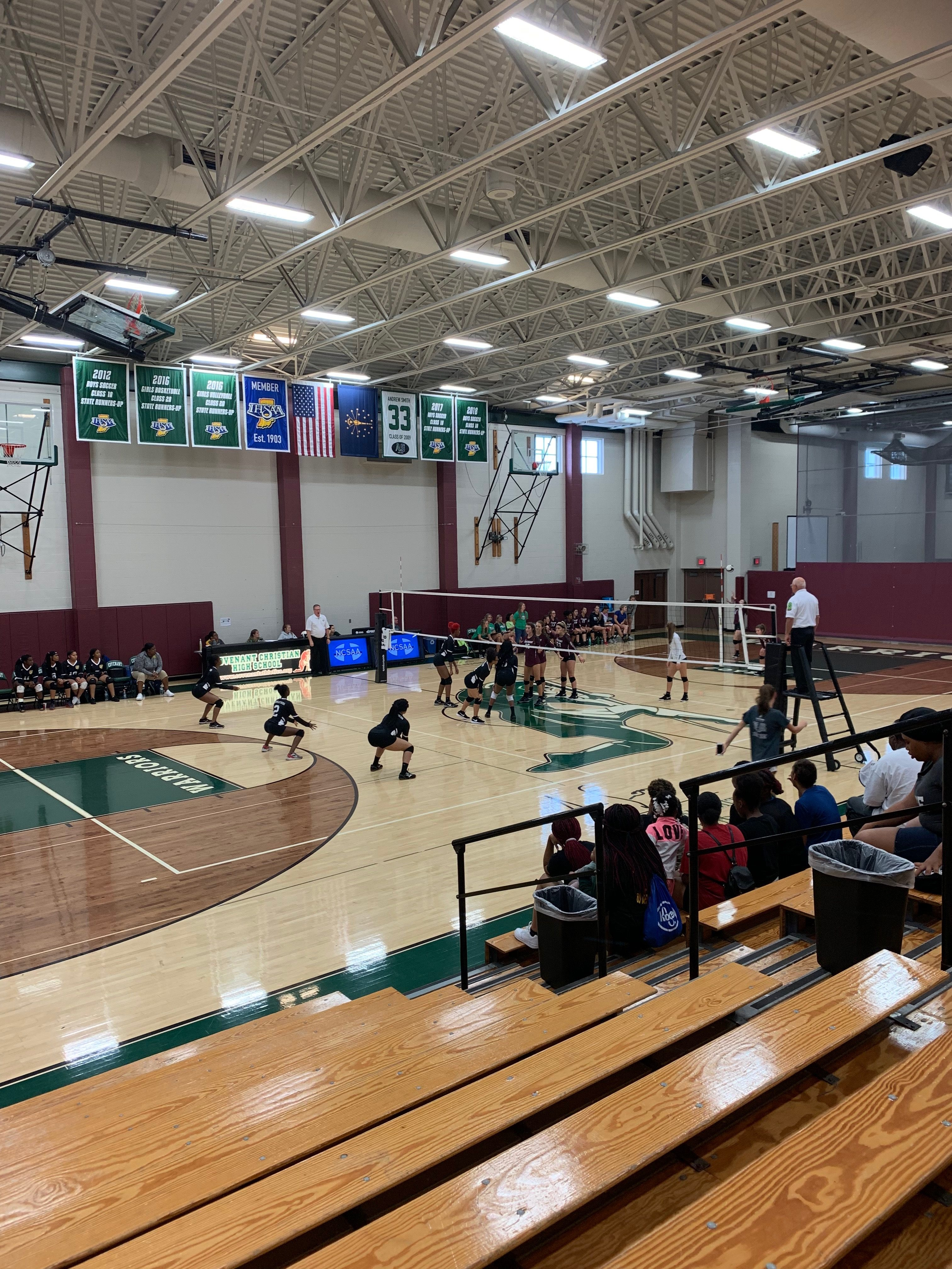 Girls Varsity Volleyball falls to Covenant Christian High School – Indianapolis 3 – 0