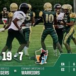 Boys Varsity Football beats Covenant Christian School 19 – 7