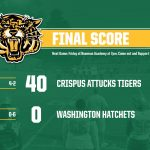 Boys Varsity Football beats Washington 40 – 0