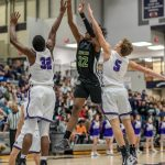 Boys Varsity Basketball falls to Brownsburg 57 – 54