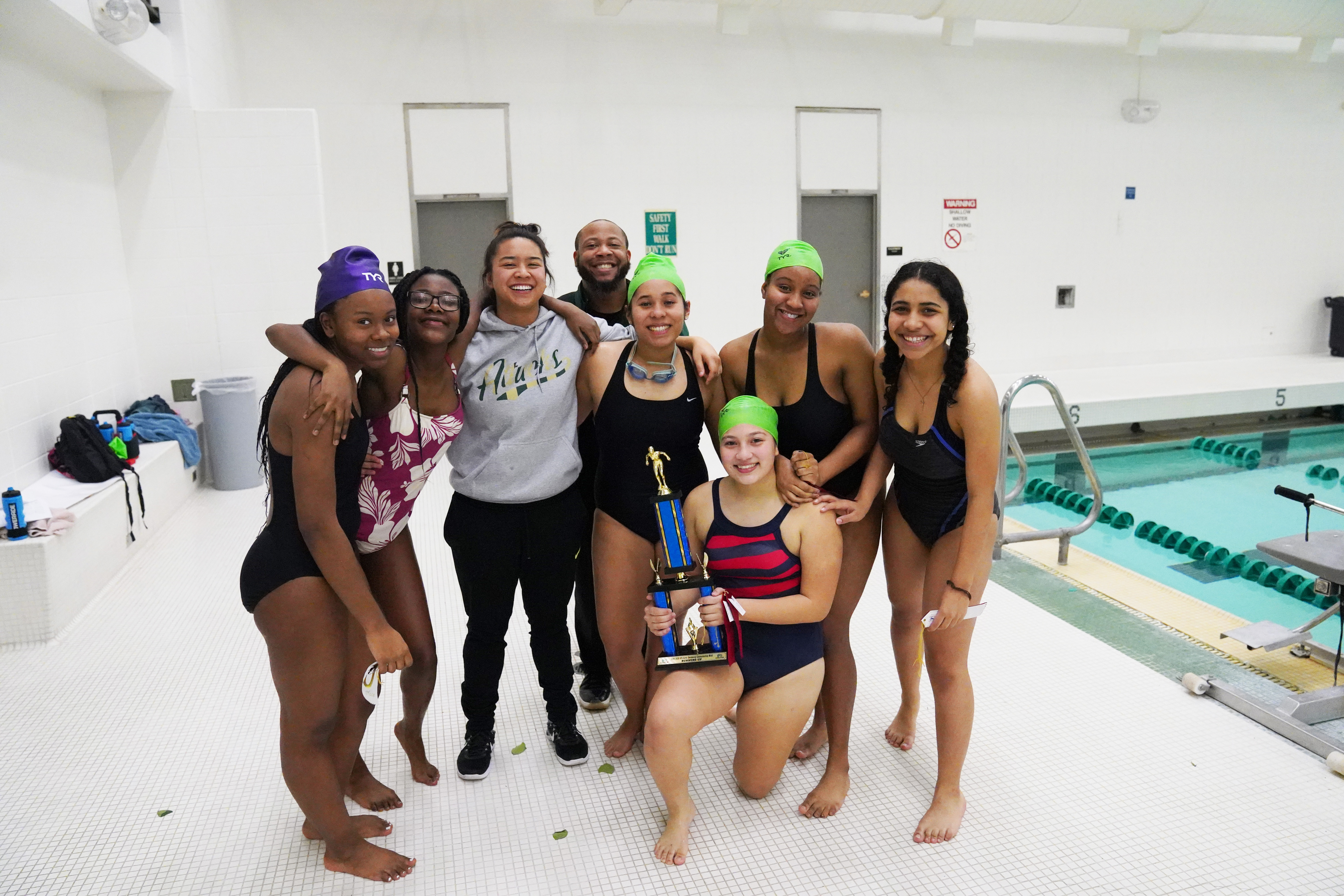 Girls Varsity Swimming finishes in 2nd place at  the IPS Swimming Championship Meet