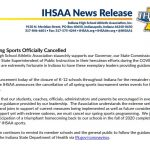 IHSAA Spring Sports Update