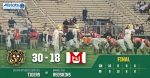 Boys Varsity Football beats Indianapolis Emmerich Manual 30 – 18