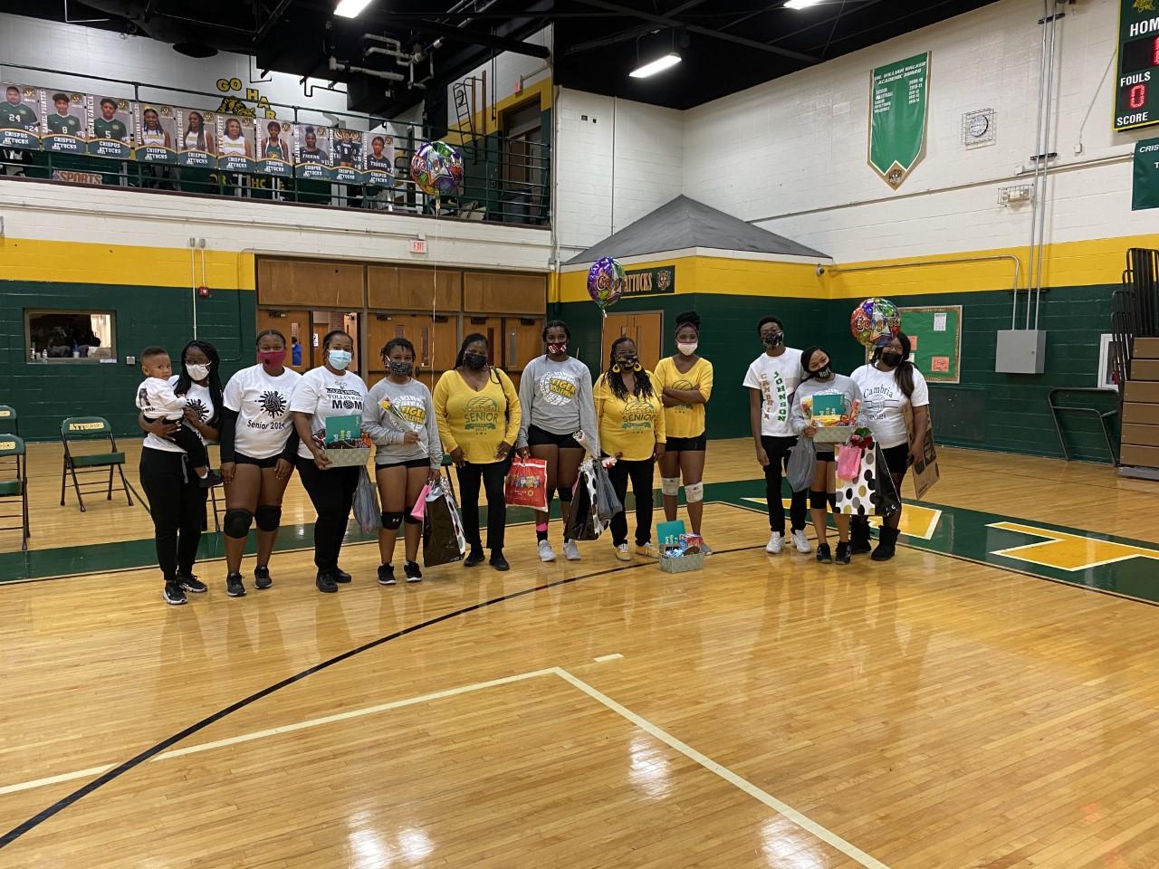 Girls Volleyball Senior Night vs Riverside 10/1/20