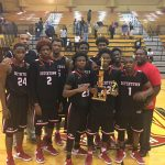 Dutchtown High School Boys Varsity Basketball beat Northeast High School 44-43