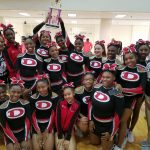 Dutchtown High School JV Competitive Cheer finishes 3rd place