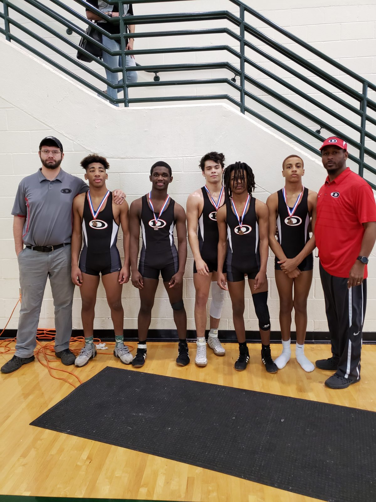 Dutchown Wrestlers place at the Region Tournament
