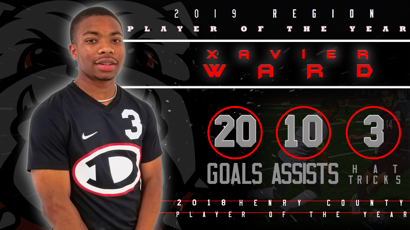 Xavier Ward 2019 GACA NORTH-SOUTH ALL-STAR