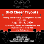 DHS Cheer Tryouts