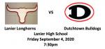 Dutchtown Bulldogs @ Lanier Longhorns (Buy Tickets)