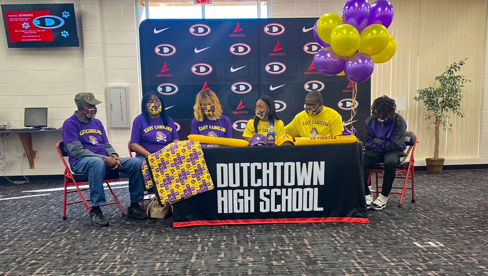 Paige Lyons signs with ECU