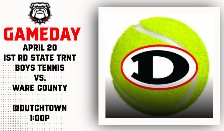 Boys Tennis vs. Ware Co. (1st Rd. – GHSA State Tournament)