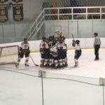Clarkston High School Boys Varsity Hockey beat Saint Clair Shores 5-4