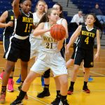 Clarkston High School Girls Freshman Basketball beat North Farmington High School 35-22
