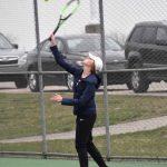 Clarkston High School Girls Junior Varsity Tennis falls to Troy Athens High School 7-1